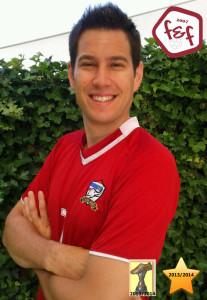 """David """"Goliat"""" Hueber Meister 2013/2014 TippLiga-Meister 2013/2014"""